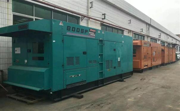 邯郸工厂发电机出租供电