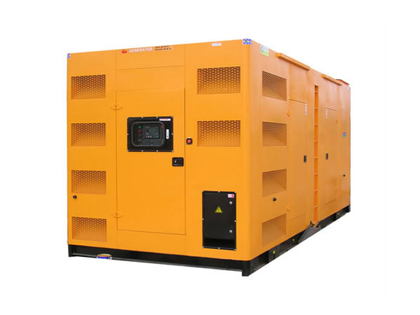 邱县500-600KW静音发电机组
