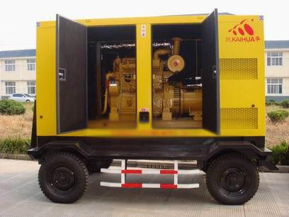 邯郸应急发电机-300kw移动静音发电机组